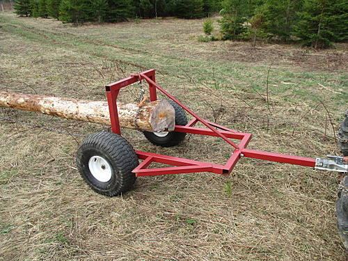 Anyone have small logging equipment ideas/pics - Trapperman